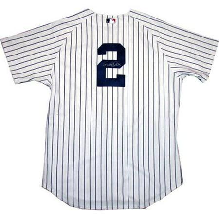 6473ec93b3c Steiner Sports JETEJES000009 Derek Jeter Authentic Yankees Pinstripe Jersey  - Signed on Back - Walmart.com