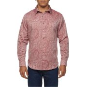 Robert Graham RS141030 Axquafin Long Sleeve Shirt XL Rose