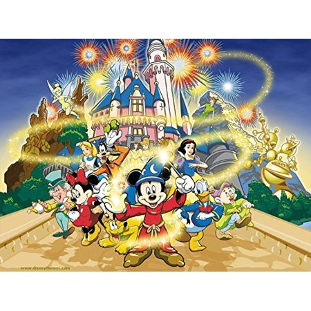 Mickey Mouse  Magic Birthday Party Edible Frosting  Image  1/4 Sheet Cake Topper* - Mickey Mouse Birthday Cake Pan