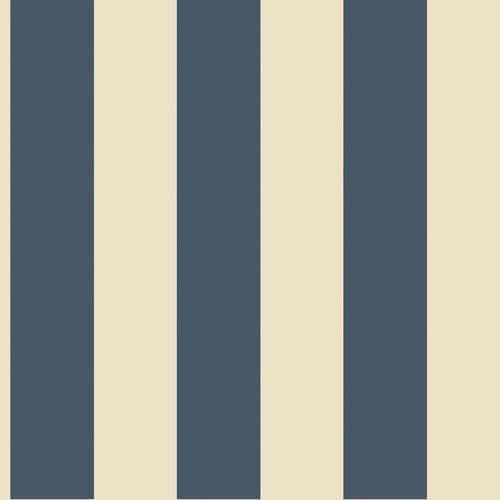 York Wallcoverings Ashford 33' x 20.5'' Stripes Foiled Wallpaper