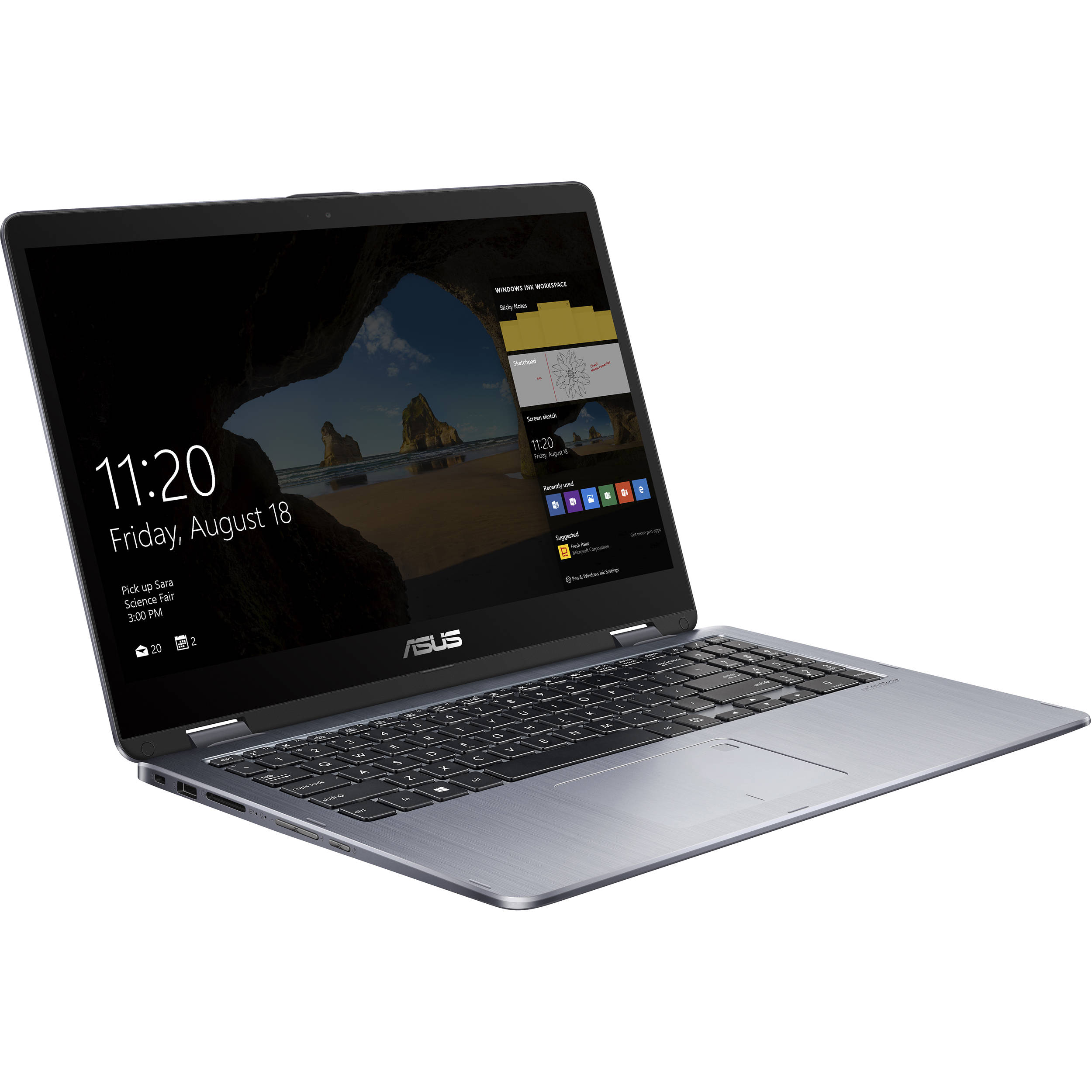"Asus VivoBook Flip TP510UA 15.6"" Core i7-8550U 1920 x 1080 Multi-Touch 2-in-1 Notebook by ASUS"