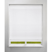 Arlo Blinds Cordless Fabric Light Filtering Roman Shades