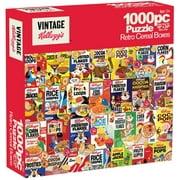 Vintage Kellog's Retro Cereal Boxes 1000 Piece Puzzle