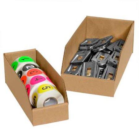 Box Partners Binbin29k 2 X 9 X 4 5 In Kraft 200 Ect 32 Corrugated Bin Boxes Case Pack Of 25