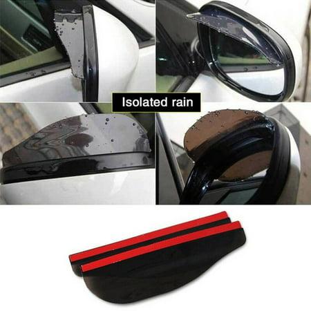 AkoaDa  Universal Car Rear View Wing Mirror Sun Shade Shield Rain Board Eyebrow
