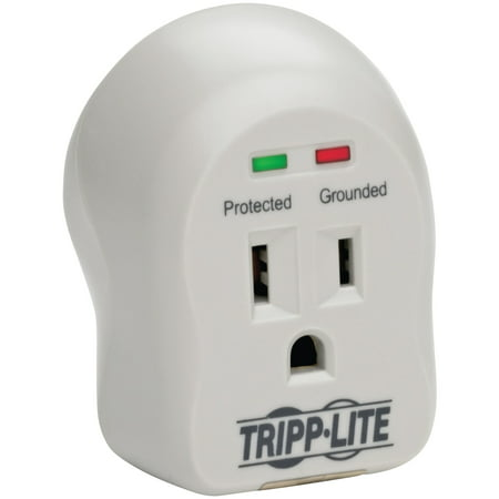 d559c3c4c Tripp Lite SPIKECUBE 1-Outlet Surge Protector (600 Joules) - Walmart.com