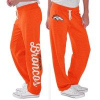 Denver Broncos G-III 4Her by Carl Banks Women's Scrimmage Fleece Pants - Orange