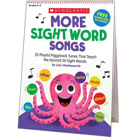Scholastic Teaching Resources SC-831710 More Sight Word Songs Flip Chart - image 1 of 1