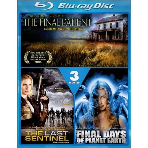 The Last Sentinel / Final Days Of Planet Earth / The Final Patient (Blu-ray)