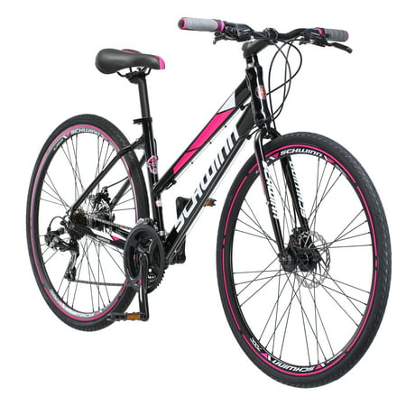Schwinn Kempo Hybrid Bike, 700c wheels, 21 speeds, womens frame, black