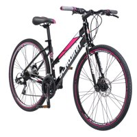 Schwinn Kempo Hybrid Bike, 700c wheels, 21 speeds, womens frame, black