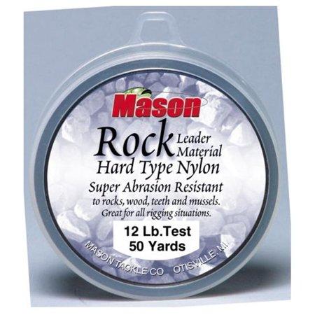 Mason Tackle Company RL-50-20 Rock Hard Type Nylon - 20 lb. ()