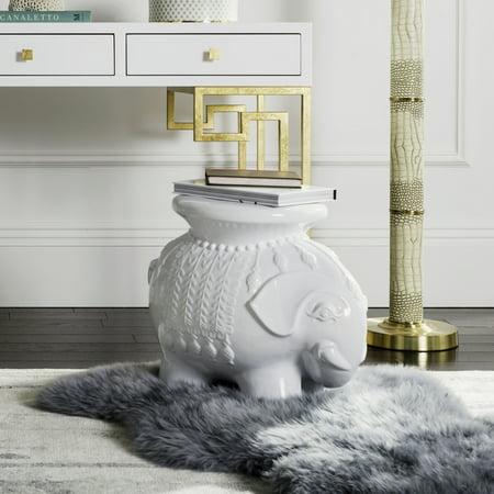 Safavieh Ceramic Elephant Stool - Ceramic Elephant