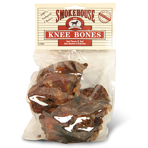 Smokehouse Knee Bones, 2 Pack