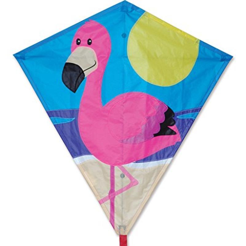 30 In. Diamond Kite Flamingo by