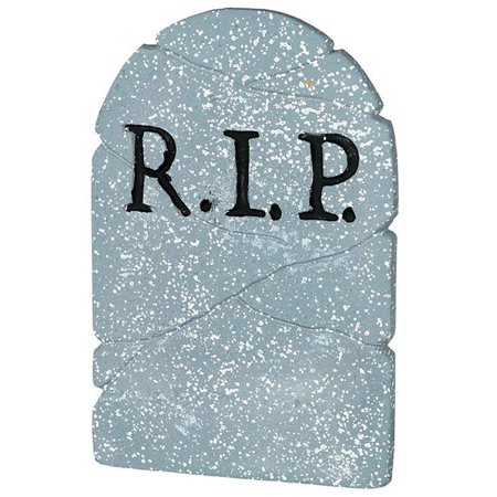 Costume Supercenter 193003AM R.I.P. 22 in. Gravestone Prop