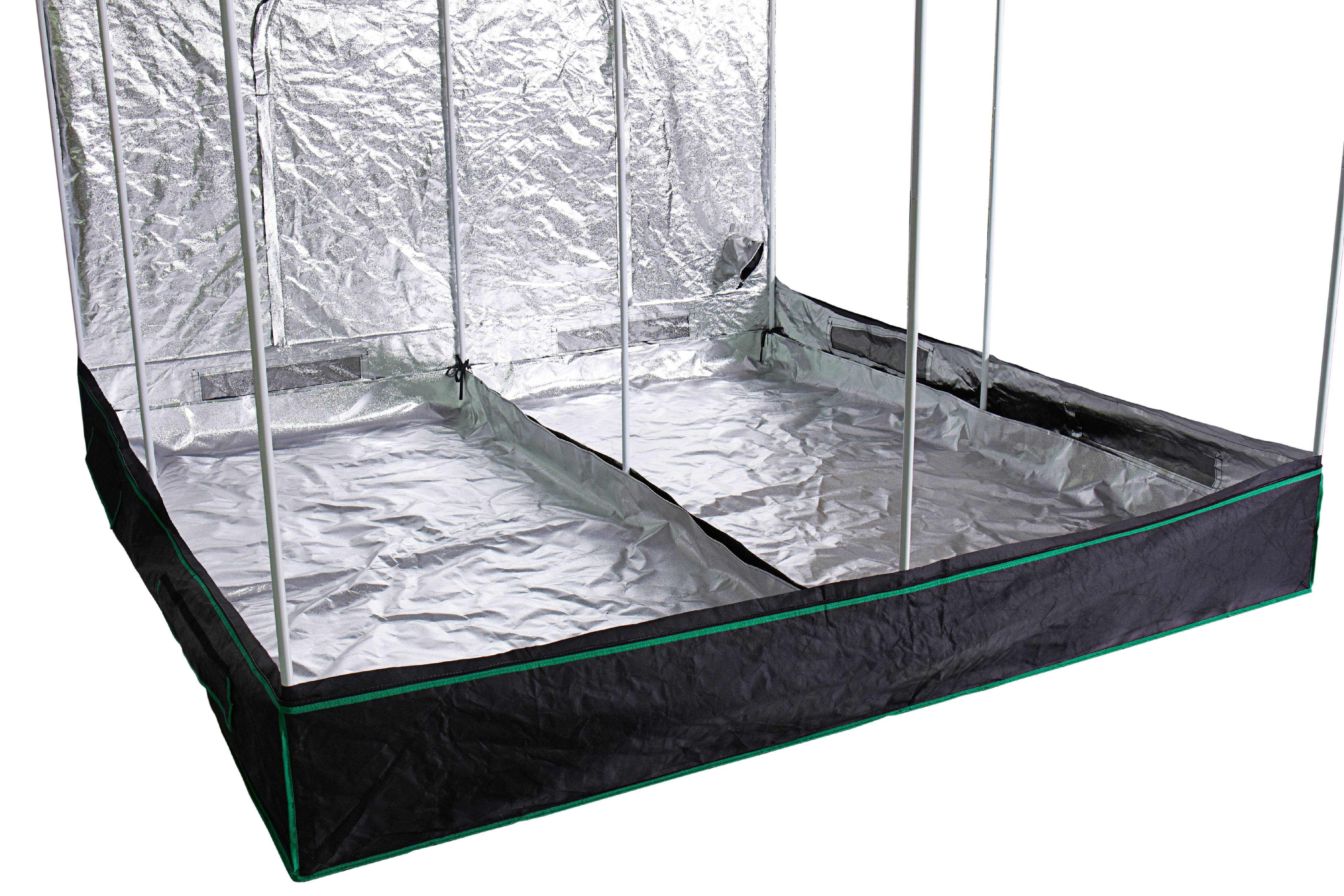 Hydro Crunch™ Heavy Duty Grow Room Tent 8 ft. x 8 ft. x  sc 1 st  Walmart & Hydro Crunch™ Heavy Duty Grow Room Tent 8 ft. x 8 ft. x 6.5 ft ...
