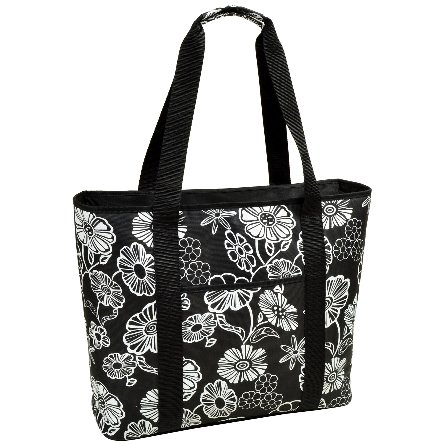 Picnic at Ascot Night Bloom Extra Large Insulated Tote (421-NB)