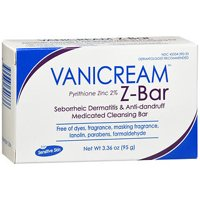Vanicream Z-Bar Medicated Cleansing Bar Soap, 3.36 Oz.