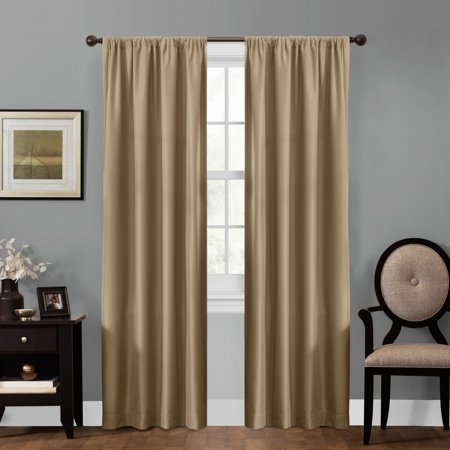 smart curtains julius ultimate light blocker 100 percent blackout window curtain walmartcom - Smart Curtains