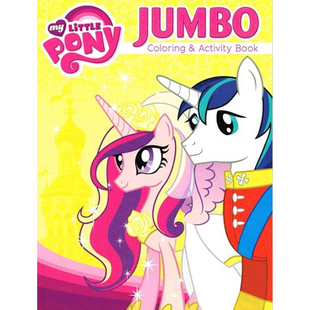 My Little Pony Jumbo Coloring and Activity Book - Cover Image Varies (Jumbo Halloween Coloring Pages)