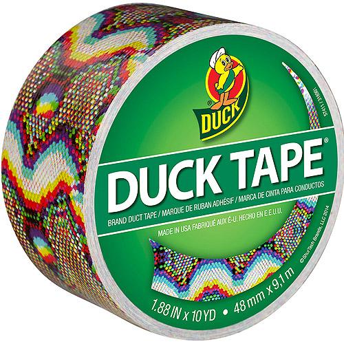"Patterned Duck Tape, 1.88"" x 10yd"