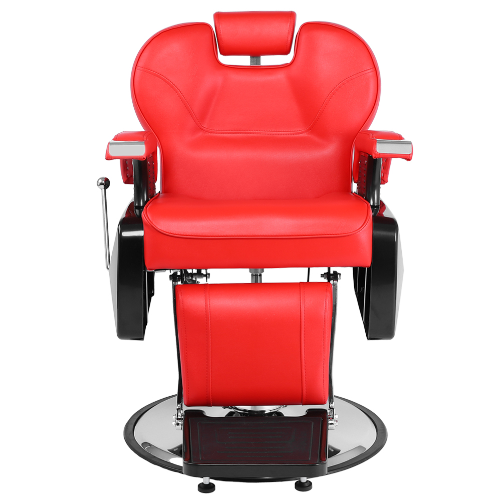 Ktaxon Deluxe Barber Chair, Portable Recline Hydraulic Hairdressing Seat Equipment, All Purpose Classic Saloon Shop Station Furniture, for Hair Cutting Styling Shampoo and Salon Beauty