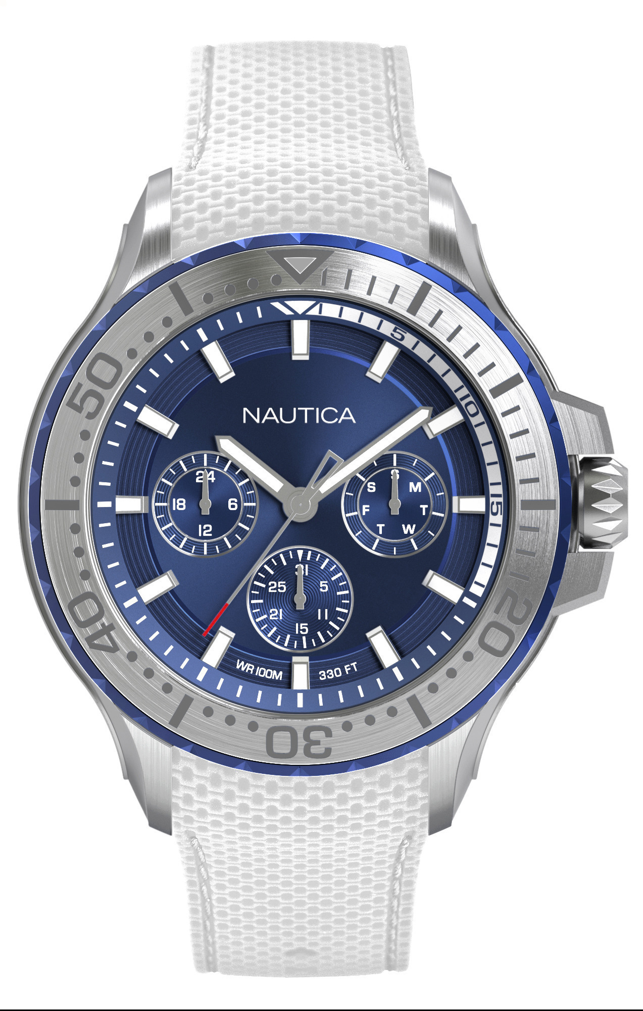 NAUTICA MEN'S WATCH AUCKLAND 49MM by Nautica
