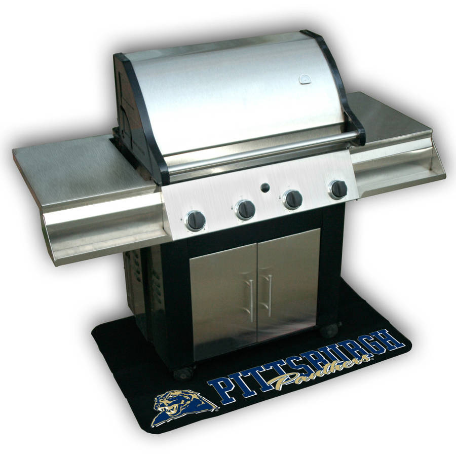 Mr. Bar-B-Q NCAA Protective Grill Mat, Pittsburgh University Panthers