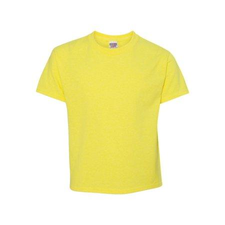 Silver Near Mint - Jerzees T-Shirts Dri-Power? Youth 50/50 T-Shirt 29BR
