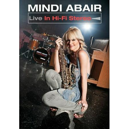 Mindi Abair: Live In Hi-Fi Stereo (DVD) - Stereo Live Halloween