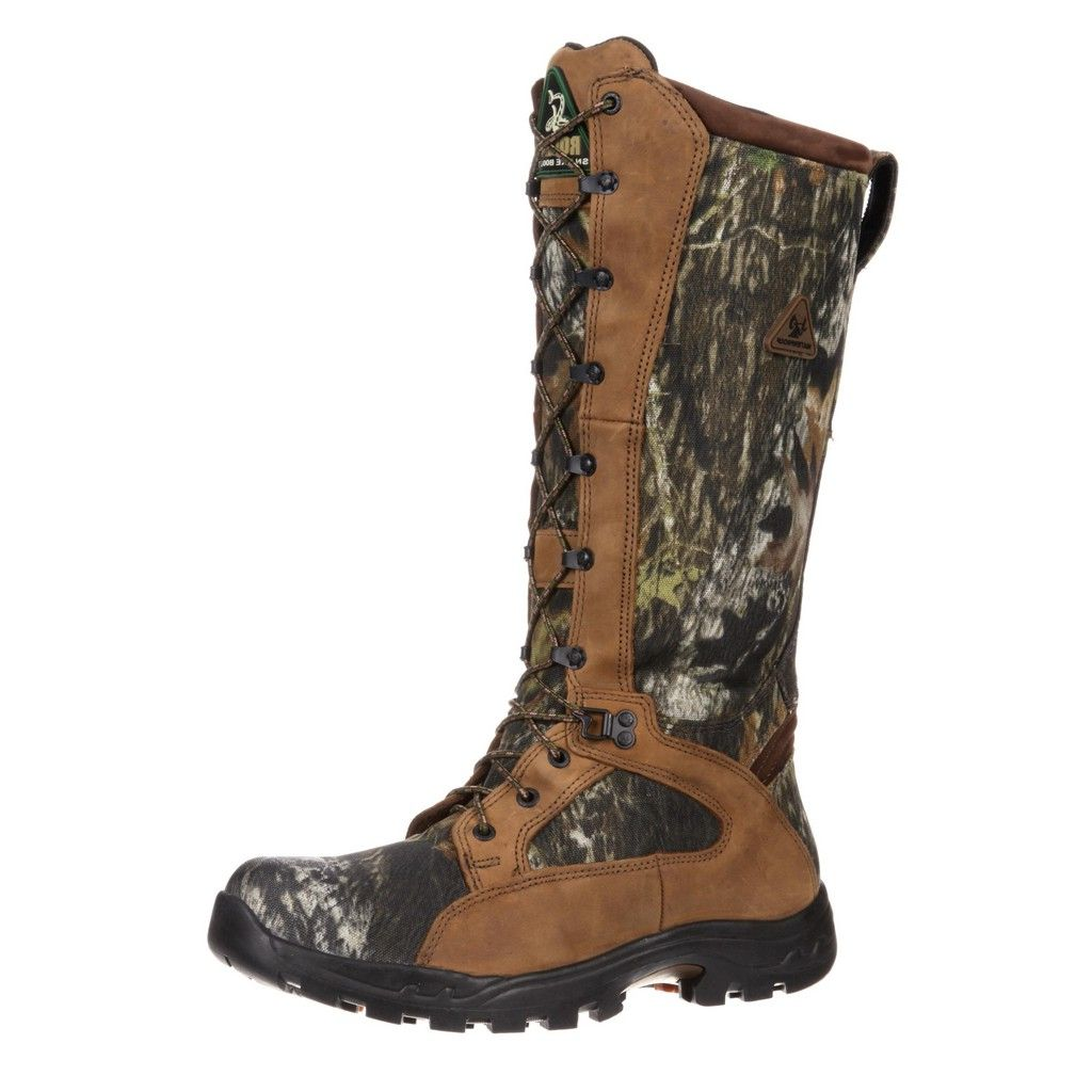 "Rocky Outdoor Boots Mens 16"" ProLight WP Snake Mossy Oak ..."