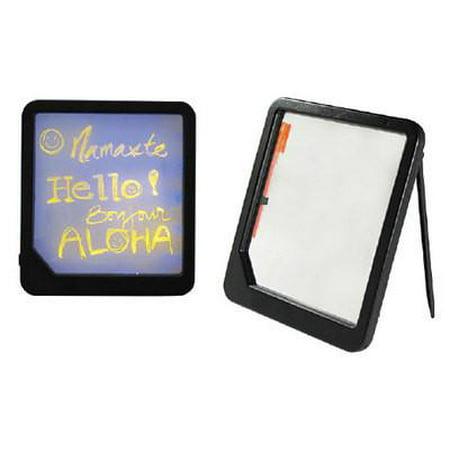 Changeable Menu Board (Small Illuminated Neon Blackboard Menu Write On Sign Board Lighted Back Lit)
