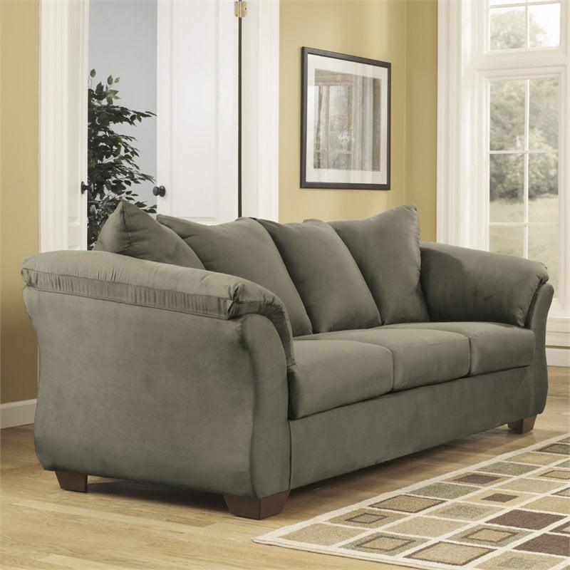Flash Furniture Fabric Sofa in Sage by Flash Furniture
