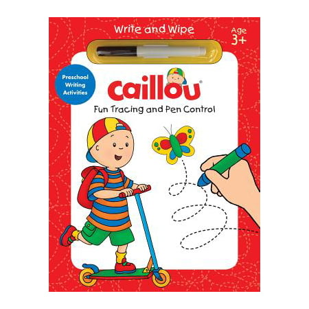 Caillou, Fun Tracing and Pen Control : Preschool Writing Activities](Halloween Preschool Activities Crafts)