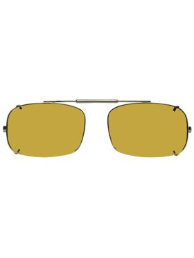 95df5c6295 Product Image Visionaries Polarized Clip on Sunglasses - DRX Rec - Bronze  Frame - 52 x 33 Eye