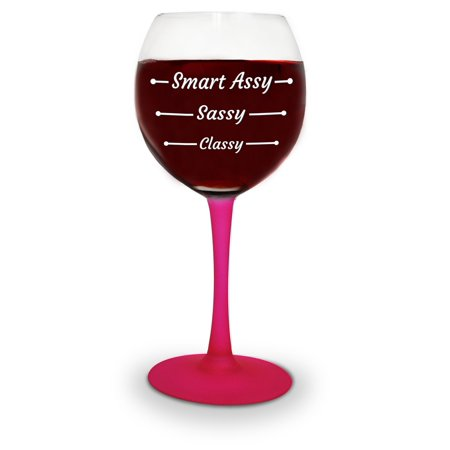 BigMouth Inc Gigantic Wine Glass - Doctor's Orders: RX 1 Glass of Wine (Gigantic Glasses)