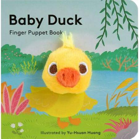 Baby Duck Finger Puppet Book (Board Book) - Duck Baby