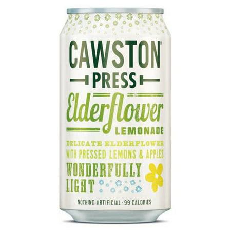 Cawston Press Sparkling Elderflower Lemonade 11.16 oz Cans - Pack of - Sparkling Pink Lemonade