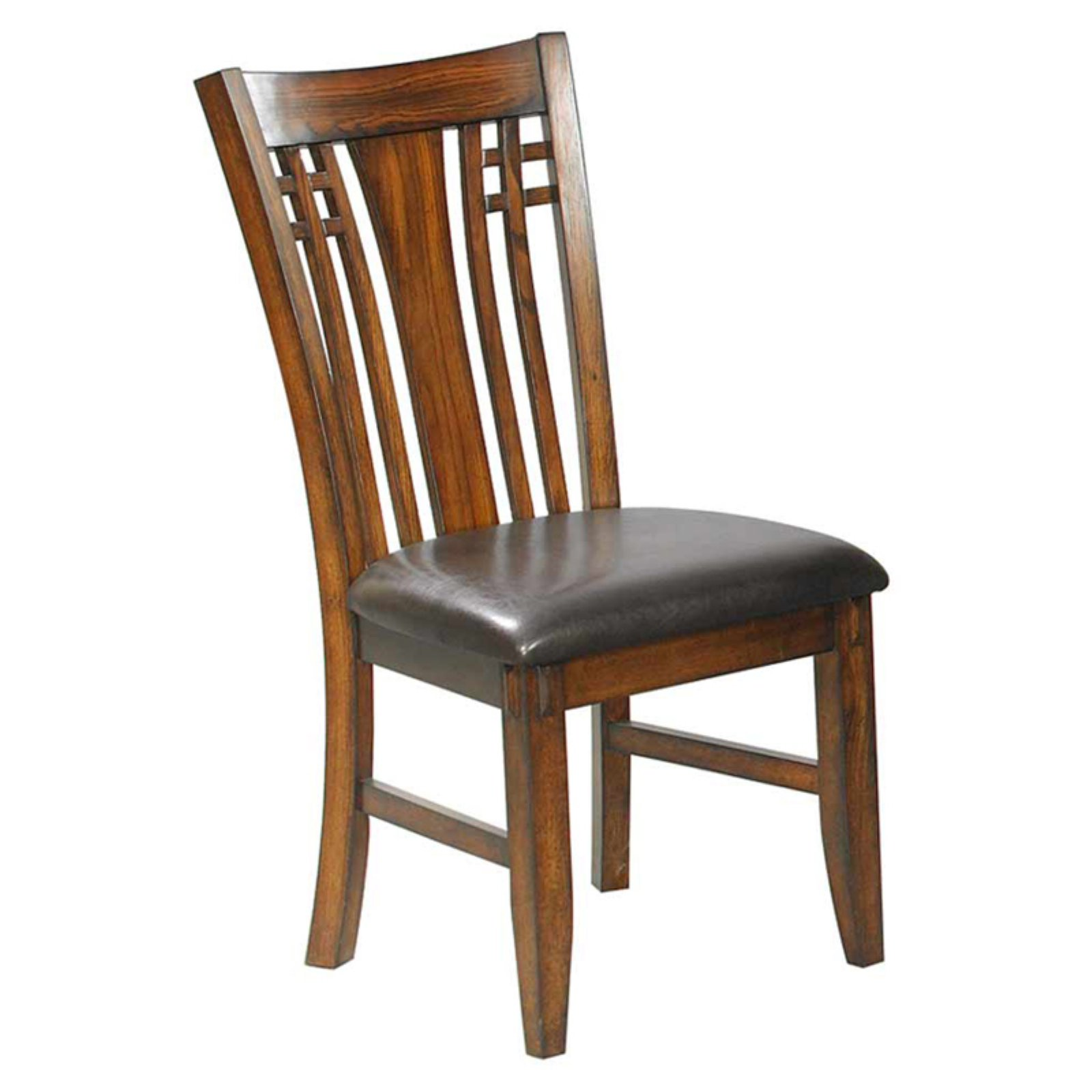 Winners Only Zahara Slat Back Dining Side Chair   Set Of 2