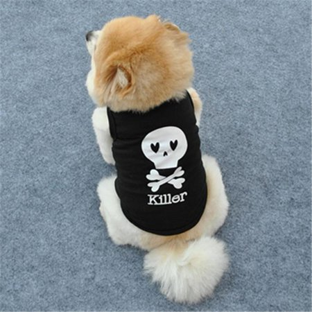 Fashion Summer Cute Dog Pet Vest Puppy Printed Cotton T - Dog Suits