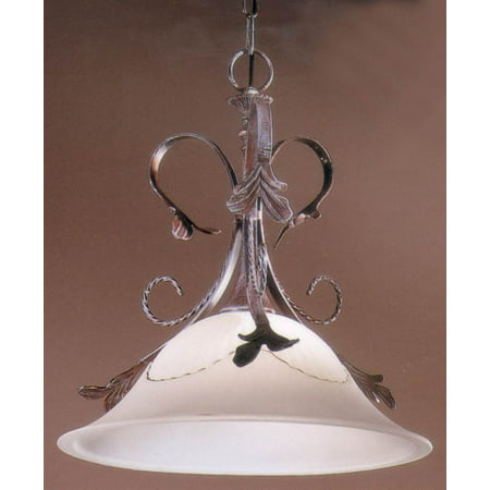 16 in. Treviso Pendant Light (Pearlized Gold) (Treviso Metal)