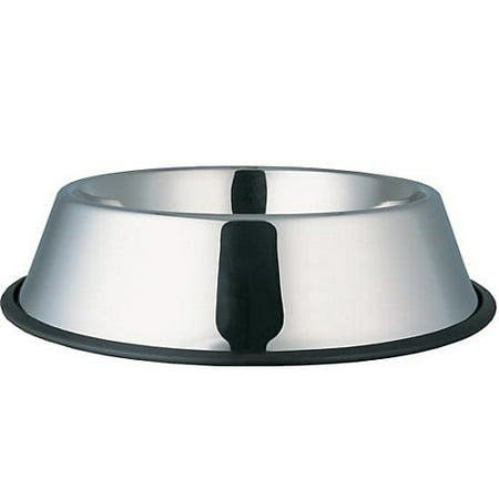 Indipets Stainless Steel No-Tip Dog Bowl 64 (Tip Bowl)