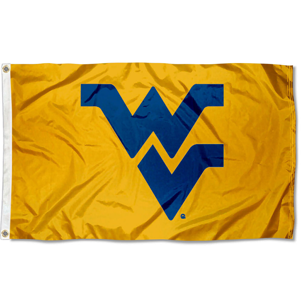 west virginia university mountaineers flag