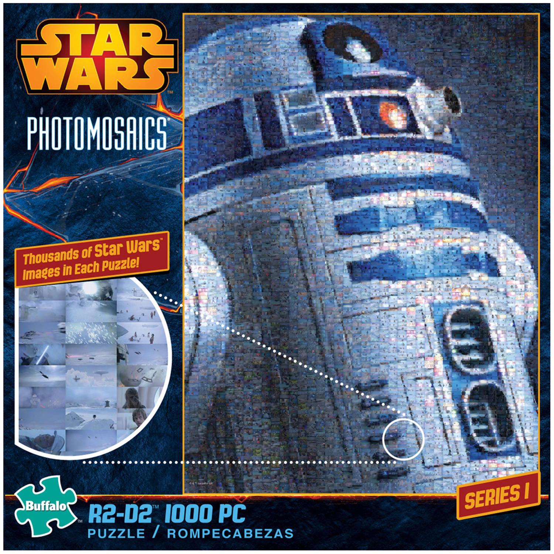 Star Wars Photomosaics R2-D2 Puzzle, 1000 Pieces