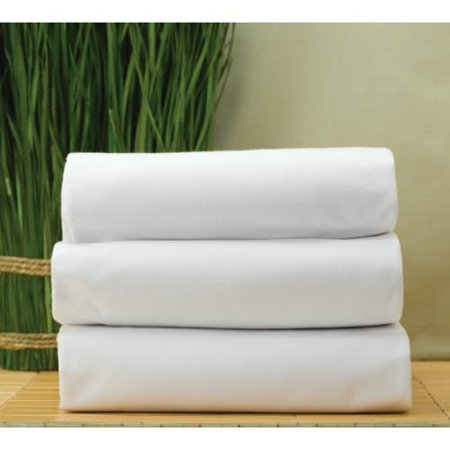 cotton bay essex t180 fitted sheet twin 39x75x12 white package of 12. Black Bedroom Furniture Sets. Home Design Ideas