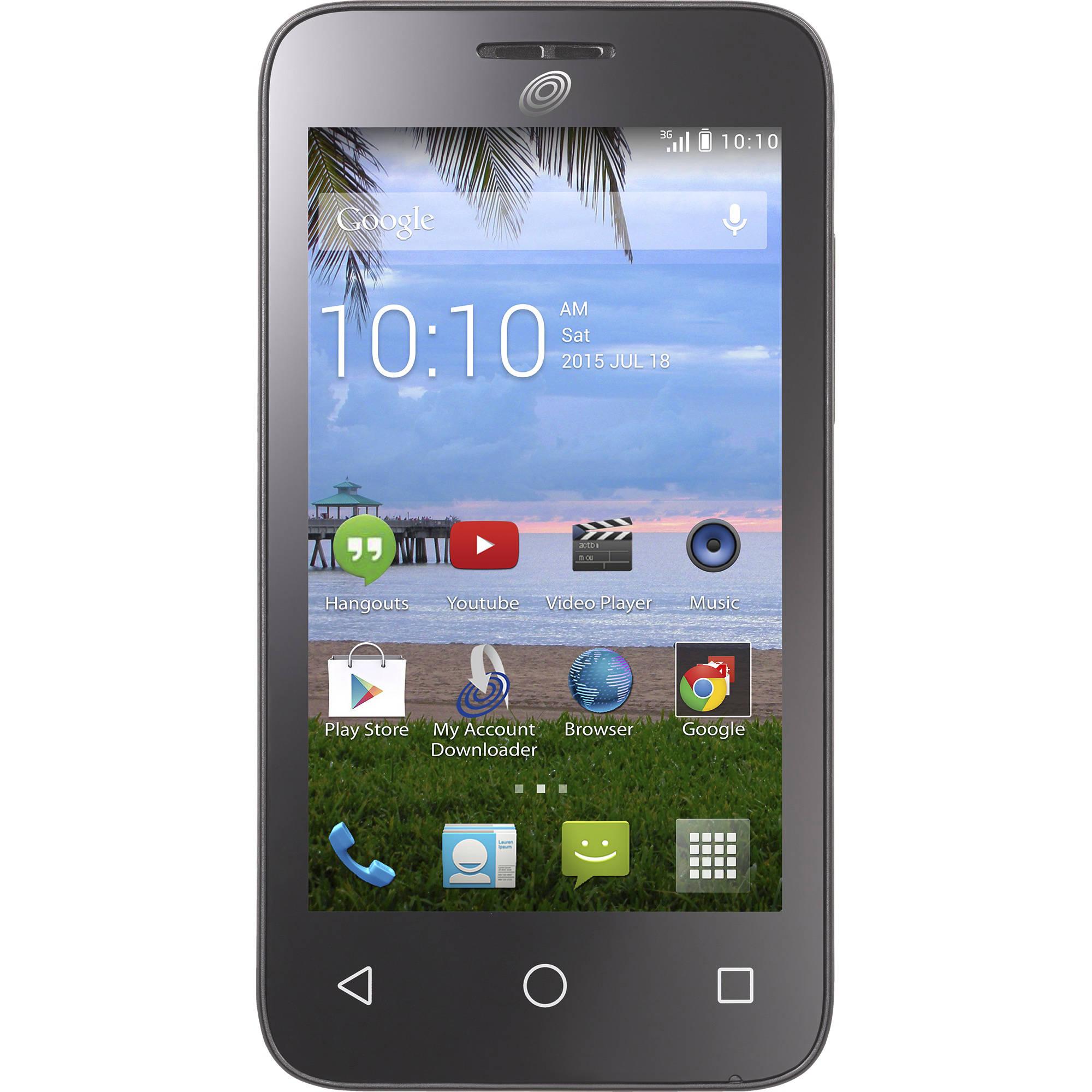 Tracfone Alcatel Pixi Pulsar Android Prepaid Smartphone Walmart Com