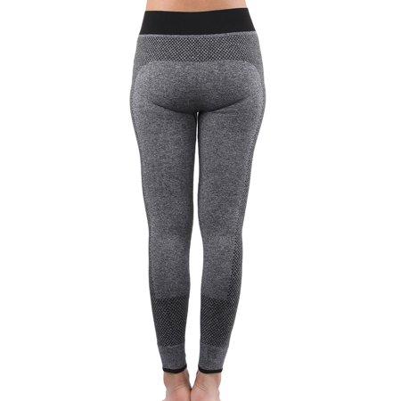 Women Exercise Running Sports Stretchy Yoga Trousers Legging Pants XS - image 2 de 4