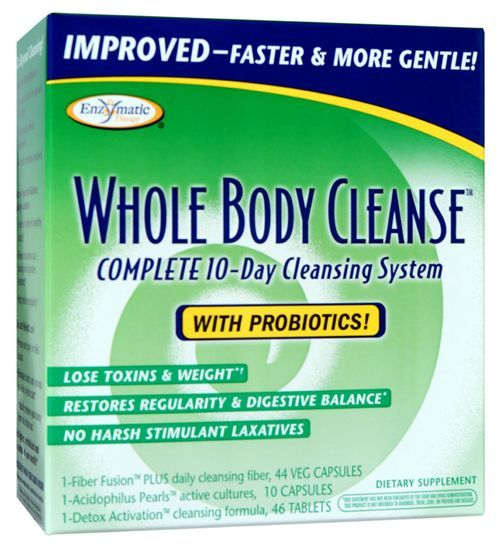 Whole Body Cleanse Enzymatic Therapy Inc. 1 Kit