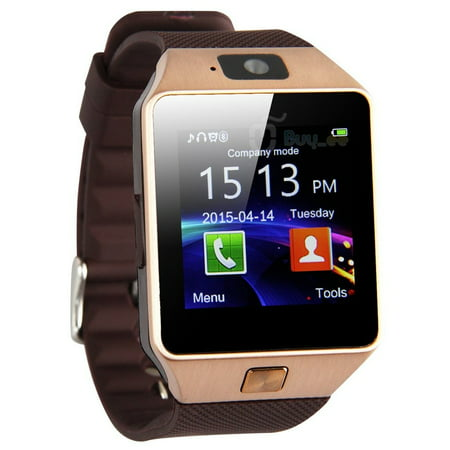 d831584c22a Bluetooth Smart Watch Wrist Watch Phone Mate with Camera For iPhone Android Smart  Phones